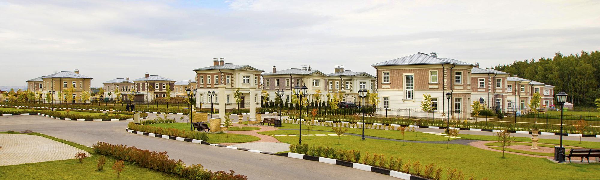 Жилой комплекс таунхаусов «Балушево»